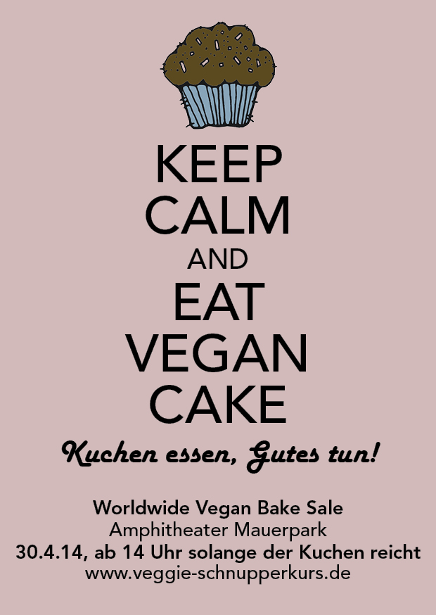 Vegan Bake Sale 2014 Flyer