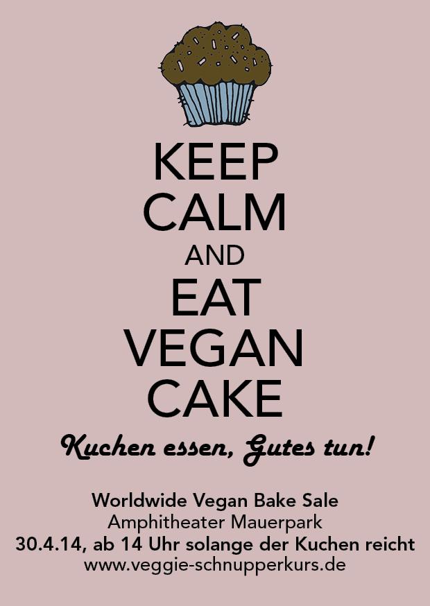Vegan Bake Sale 2014 Flyer
